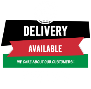 Delivery Available, we care about our customers