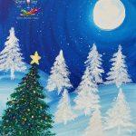 Peaceful Palette Christmas Scene