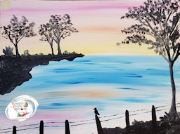 Peaceful Palette Sunset Dream