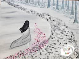 Peaceful Palette Wandering Maiden